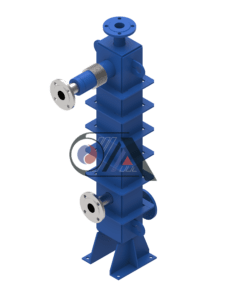 Semi-welded plate heat exchangers